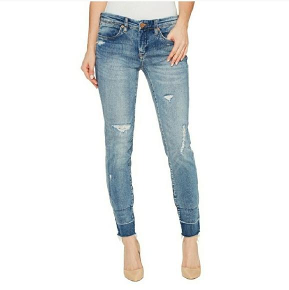 5d36b34cdcfc Blank NYC Jeans | Denim Distressed Crop Skinny Size 28 | Poshmark